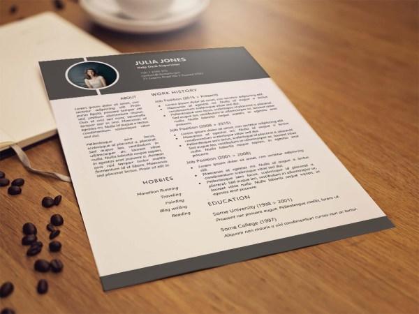 Free Help Desk Supervisor Resume Template for Job Seeker