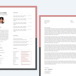 Sketch Resume + Cover Letter