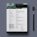 Classic Indesign Resume Template