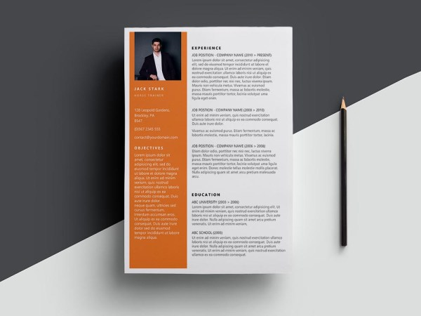 Free Horse Trainer Resume Template with Clean Look