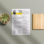 CDR Resume Template