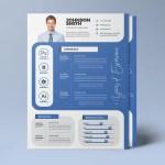 A4 CV Resume Template