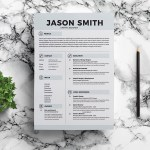 Jason Resume Template