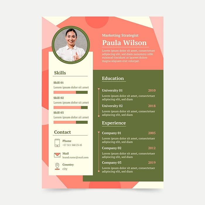 Digital Marketing Strategist Resume
