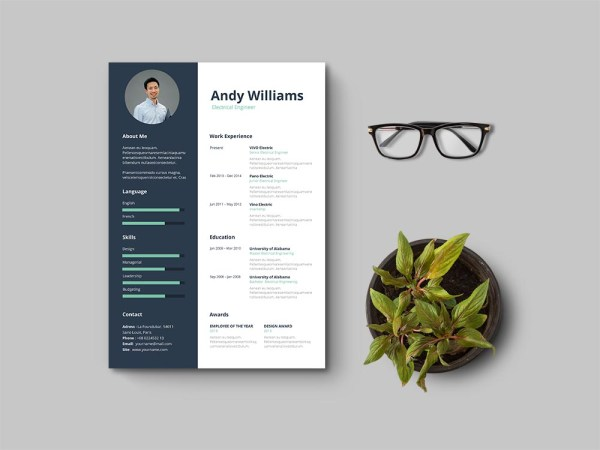 Free Electrical Engineering Resume Template
