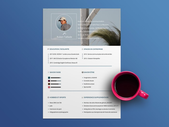 Free Personal Resume Template