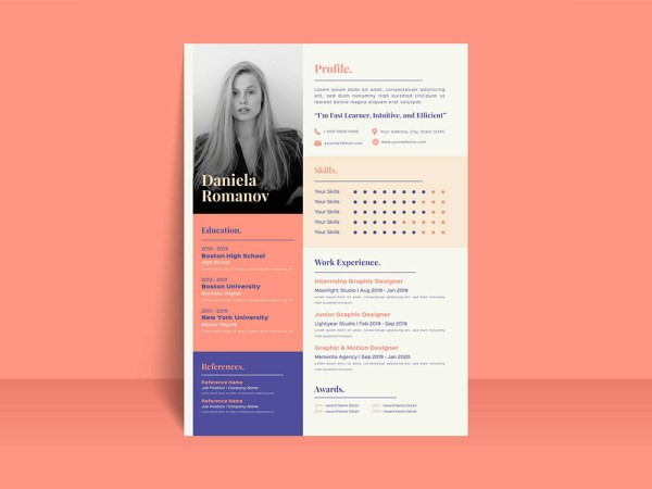 Free Hotel Receptionist Resume Template
