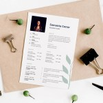 Wedding Florist Resume