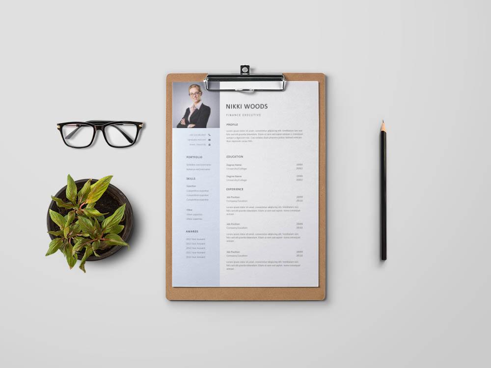 Free Finance Executive Resume Template