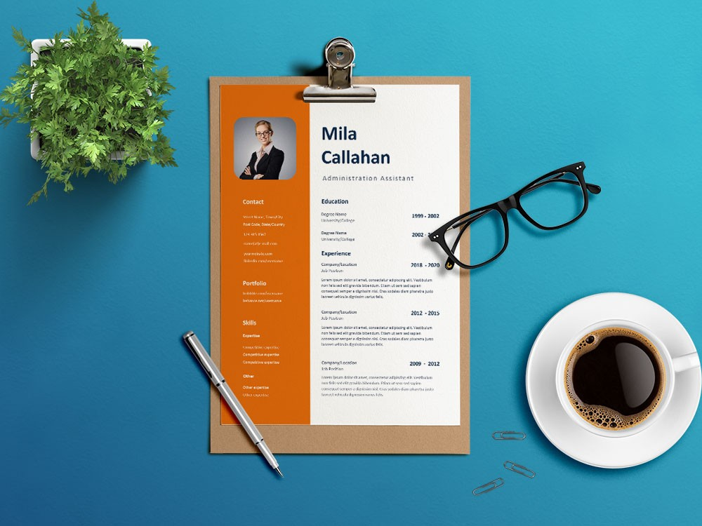 Free Administration Assistant Resume Template