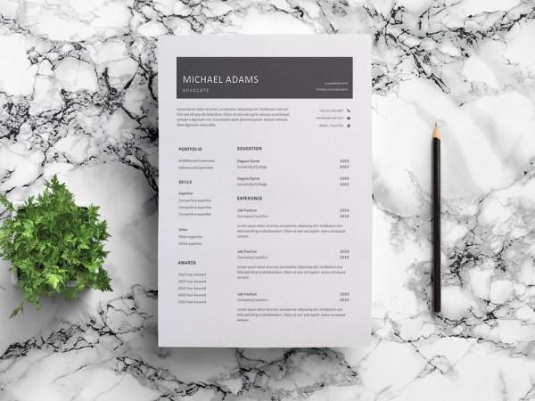 Free Advocate Resume Template
