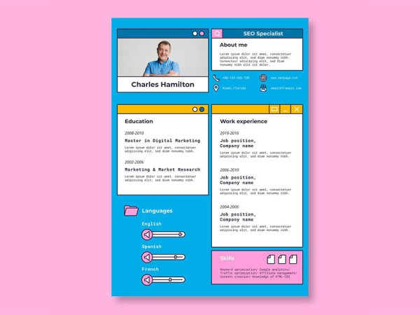 Free SEO Specialist Resume Template