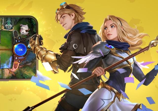 Legends of Runeterra Lux y Ezreal