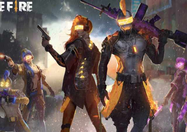 Fight for Your Punk Squad in Free Fire
