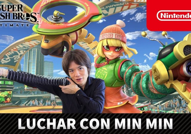 NINTENDO - MIN MIN FROM ARMS