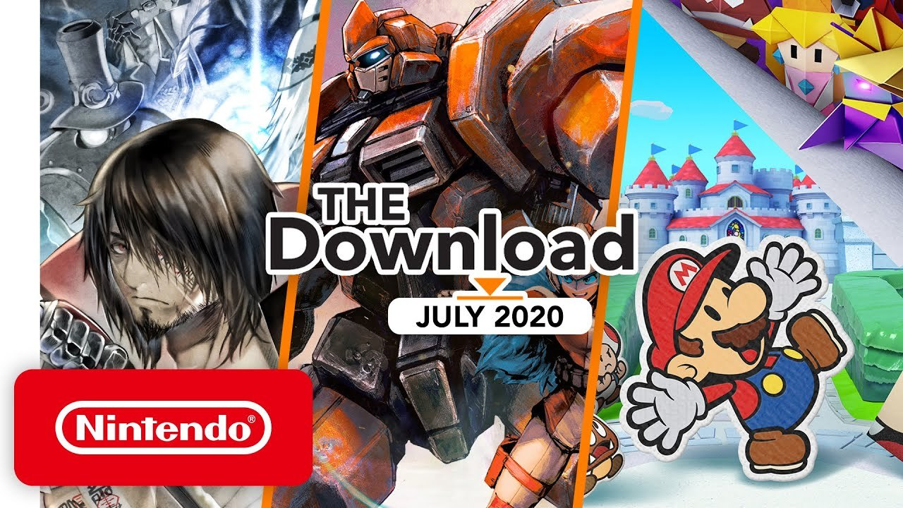 Nintendo The Download july 2020
