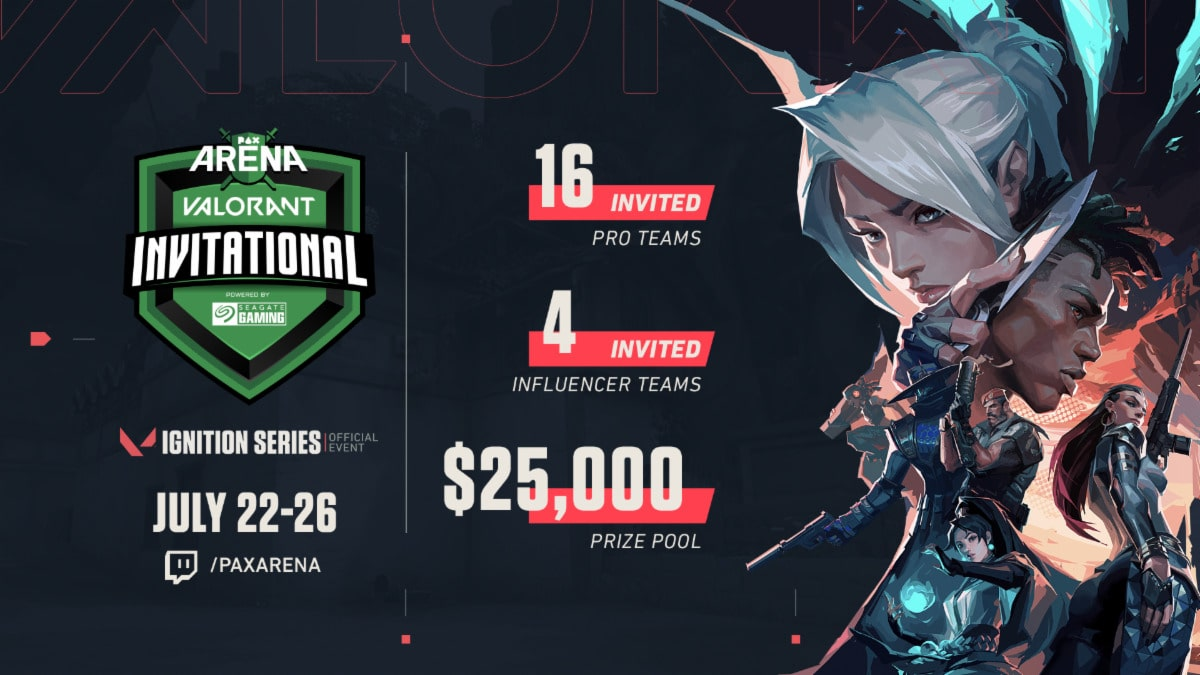 PAX Arena VALORANT Invitational