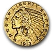 Five dollar gold eagle