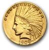 ten dollar 1909 gold eagle coin