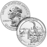 Everglades america the beautiful coin