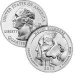mount rushmore american the beautiful silver coin 2013