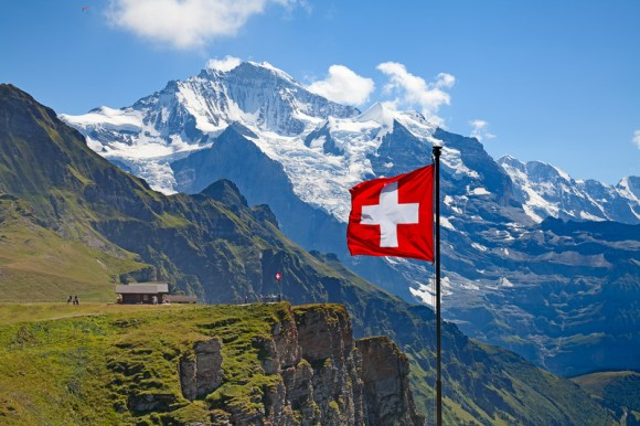 swiss flag and alpscanstockphoto17802153