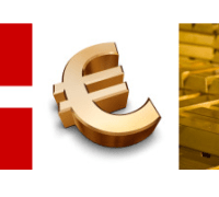 denmark gold and the euro