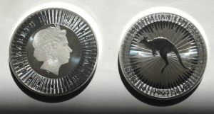 perth mint silver kangaroo coins