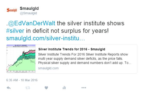 silver institute to eddie van