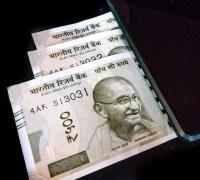 Indian rupee 500