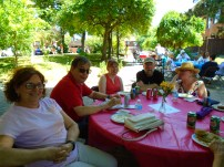 Some of our board members also made it to the barbecue!
