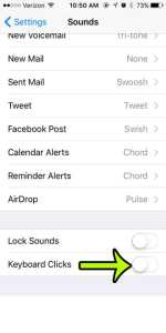How to Turn Off Keyboard Clicks on an iPhone 5