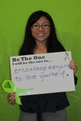 Encourage everyone to love yourself