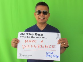 Make a difference - Errol, Daly City