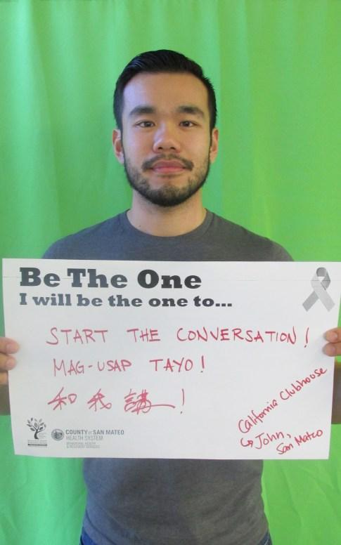 Start the Conversation! Mag-Usap Tayo! -California Clubhouse John, San Mateo