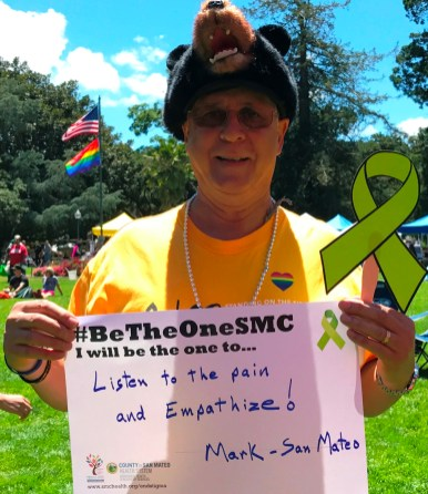 Listen to the pain and empathize! - Mark, San Mateo