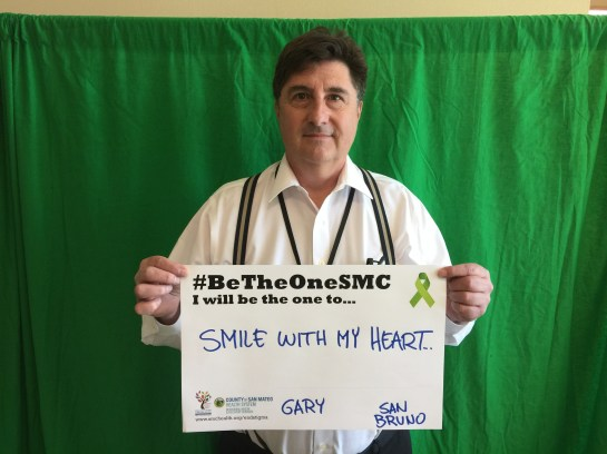 Smile with my heart. - Gary, San Bruno