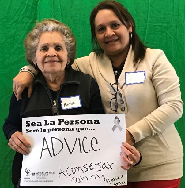 Advise - Maria and Roxana, Daly City
