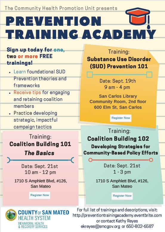 Prevention Training Academy Flier pic
