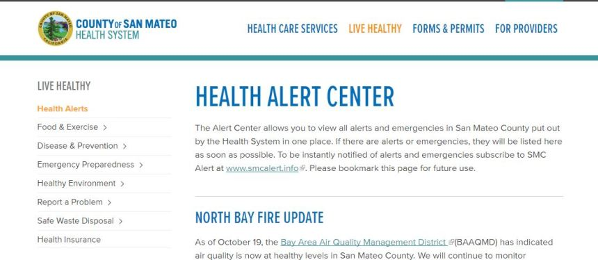 health alert center pic