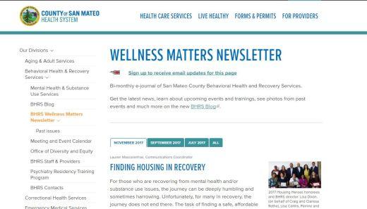 Wellness matters november