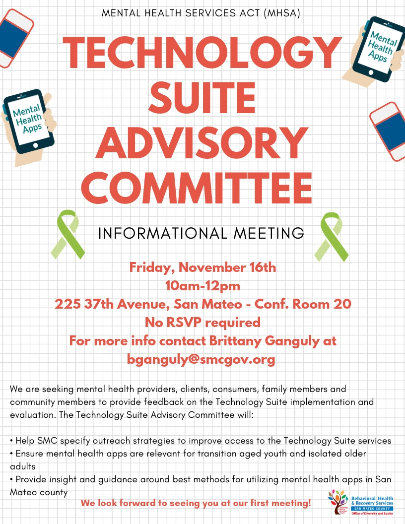 Technology Suite Advisory Committee