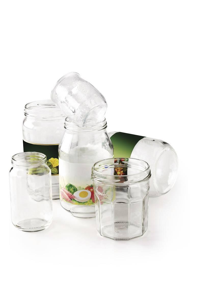 pots bocaux verre