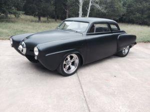 1950 Studebaker Champion 2 Door Chopped top black custom rat rod hot rod sbc 50  Classic
