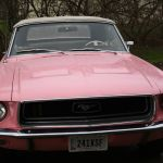 1968 Ford Mustang Convertible Hot Passionate Playboy Pink Best Parade Car Ever Classic Ford Mustang 1968 For Sale