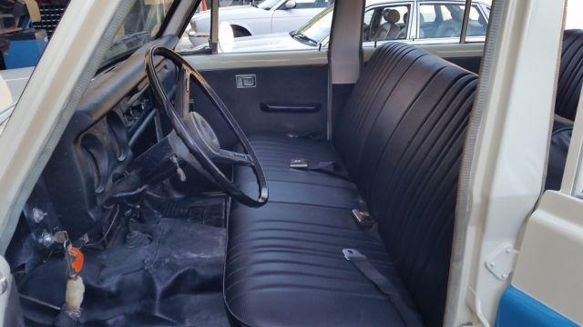 1972 Toyota Iron Pig FJ55 Land Cruiser New Interior New