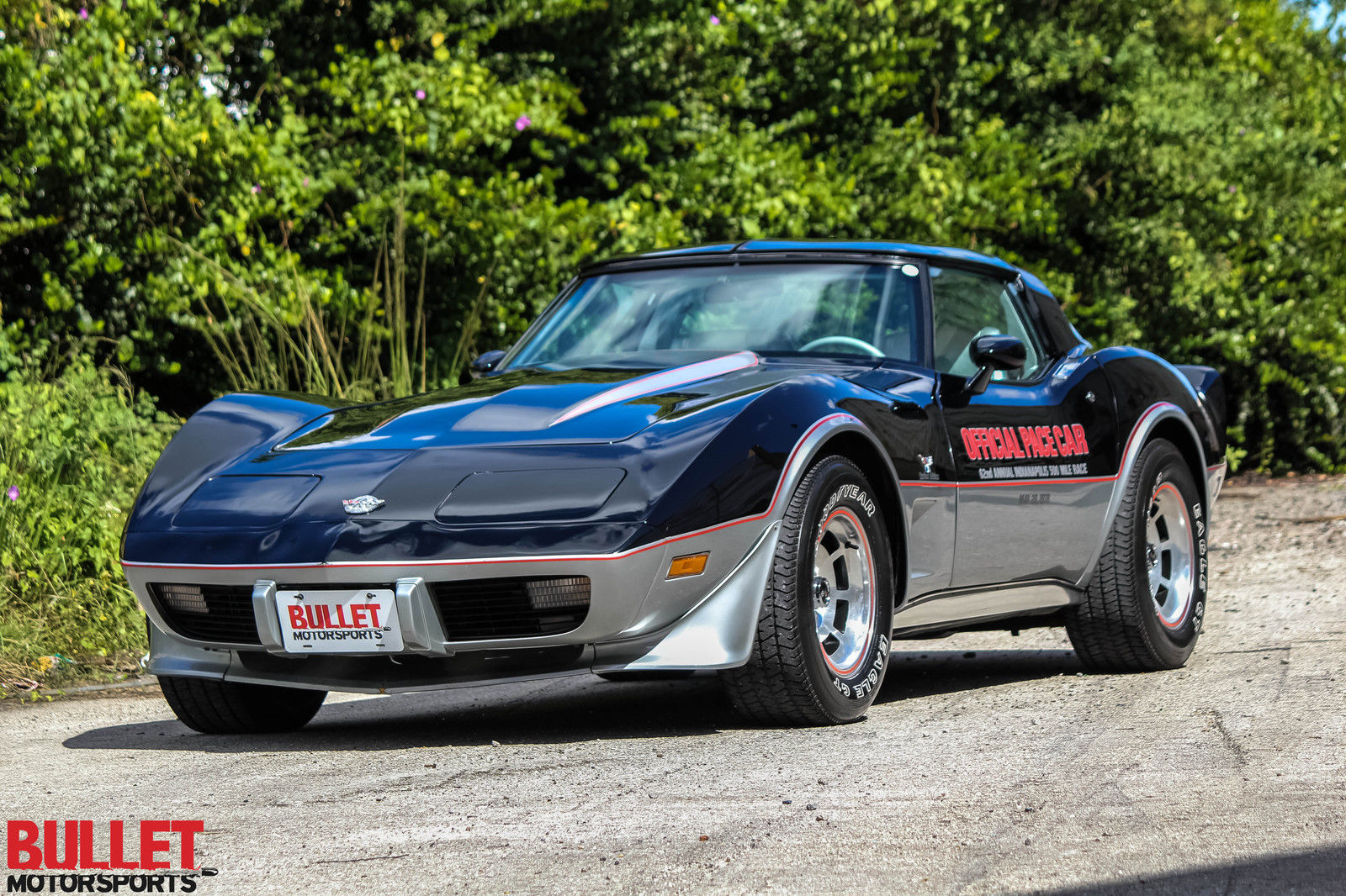 1978 Chevrolet Corvette Pace Car Edition Numbers Matching