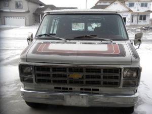 1979 Chevrolet G20 Chevy Van Extended Cargo Van 3Door 5