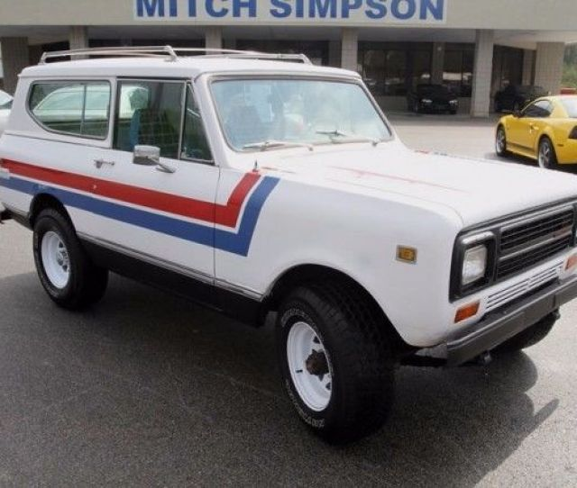 1980 International Scout Ii 4x4 Good Solid Scout Nice Condition No Reserve 1980 International Harvester Scout
