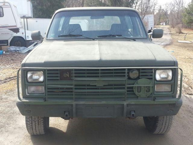 Chevrolet Blazer K5 Cucv M 4x4 6 3lsel 3 4